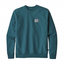 Men's Shop Sticker Patch Uprisal Crew Sweatshirt by Patagonia