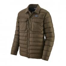 Men's Silent Down Shirt Jacket by Patagonia in Chelan WA