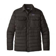 Men's Silent Down Shirt Jacket by Patagonia in Iowa City IA