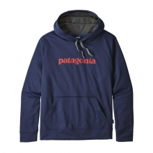 Men's Text Logo PolyCycle Hoody by Patagonia in Iowa City IA