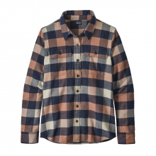 Women's L/S Fjord Flannel Shirt by Patagonia in Edmonton Ab