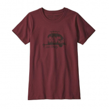 Women's Live Simply Trailer Responsibili-Tee by Patagonia in Courtenay Bc