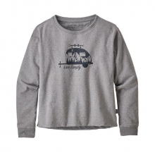 Women's Live Simply Trailer Uprisal Crew Sweatshirt by Patagonia in Sioux Falls SD