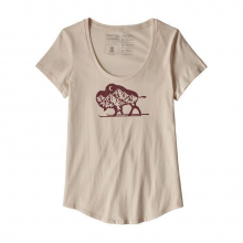 Women's Nordic Bison Organic Scoop T-Shirt by Patagonia in Sioux Falls SD