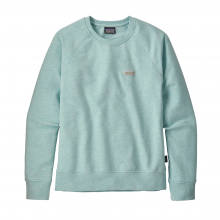Women's Pastel P-6 Label Ahnya Crew Sweatshirt by Patagonia in Livermore Ca