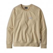 Women's Pastel P-6 Label Ahnya Crew Sweatshirt by Patagonia in Hope Ar
