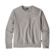 Women's Pastel P-6 Label Ahnya Crew Sweatshirt by Patagonia in Hope Ar
