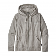 Women's Pastel P-6 Label Ahnya Full-Zip Hoody by Patagonia in Garfield AR