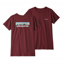 Women's Pastel P-6 Logo Responsibili-Tee by Patagonia in New Denver Bc