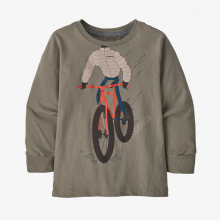 Baby L/S Graphic Organic T-Shirt by Patagonia in Sioux Falls SD