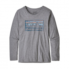 Girls' L/S Graphic Organic T-Shirt by Patagonia