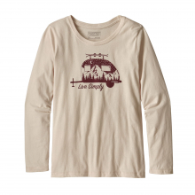 Girls' L/S Graphic Organic T-Shirt by Patagonia in Glenwood Springs CO