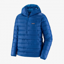 Men's Down Sweater Hoody P/O by Patagonia