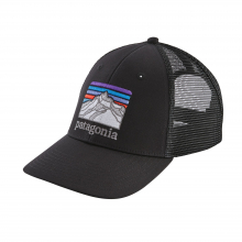 Line Logo Ridge LoPro Trucker Hat by Patagonia in Durango Co