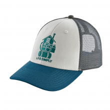 Live Simply Home LoPro Trucker Hat by Patagonia in Ridgway Co