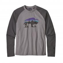 Men's Fitz Roy Bison LW Crew Sweatshirt by Patagonia