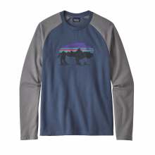 Men's Fitz Roy Bison LW Crew Sweatshirt by Patagonia in Sioux Falls SD
