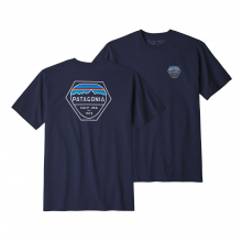 Men's Fitz Roy Hex Responsibili-Tee by Patagonia