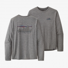 Men's L/S Cap Cool Daily Graphic Shirt