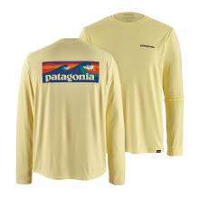 Men's Long-Sleeve Cap Cool Daily Graphic Shirt by Patagonia in Chelan WA