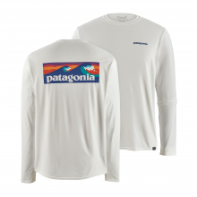 Men's Long-Sleeve Cap Cool Daily Graphic Shirt by Patagonia