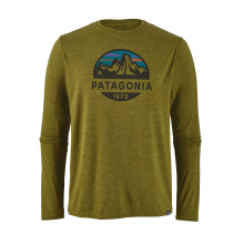 Men's L/S Cap Cool Daily Graphic Shirt by Patagonia in Eureka Ca