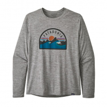 Men's Long-Sleeve Cap Cool Daily Graphic Shirt by Patagonia in Denver Co