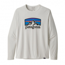 Men's L/S Cap Cool Daily Graphic Shirt by Patagonia in Chelan WA
