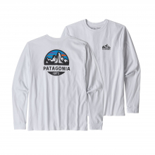 Men's L/S Fitz Roy Scope Responsibili-Tee by Patagonia in Sioux Falls SD