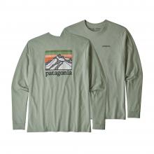Men's L/S Line Logo Ridge Responsibili-Tee