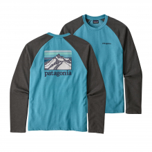 Men's Line Logo Ridge LW Crew Sweatshirt by Patagonia in Sioux Falls SD