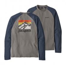 Men's Line Logo Ridge LW Crew Sweatshirt by Patagonia in Sioux Falls SD