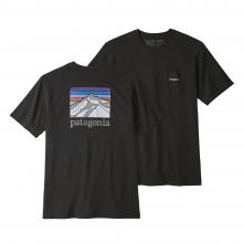 Men's Line Logo Ridge Pocket Responsibili-Tee by Patagonia in Fresno Ca