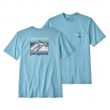 Men's Line Logo Ridge Pocket Responsibili-Tee by Patagonia in Huntsville Al