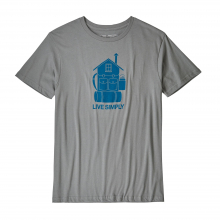 Men's Live Simply Home Organic T-Shirt by Patagonia in Sioux Falls SD