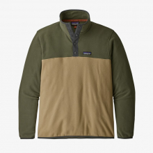 Men's Micro D Snap-T P/O by Patagonia in Golden CO