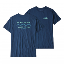 Men's The Less You Need Organic T-Shirt by Patagonia in Courtenay Bc