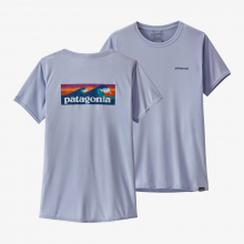 Women's Cap Cool Daily Graphic Shirt by Patagonia in Sioux Falls SD