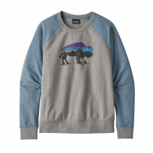 Women's Fitz Roy Bison Ahnya Crew Sweatshirt by Patagonia in Sioux Falls SD