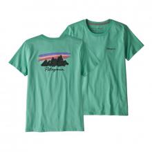 Women's Free Hand Fitz Roy Organic Crew T-Shirt