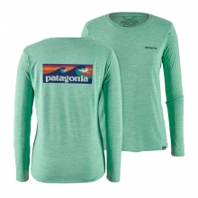 Women's L/S Cap Cool Daily Graphic Shirt by Patagonia