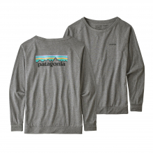 Women's Long-Sleeve Pastel P-6 Logo Responsibili-Tee by Patagonia in Sioux Falls SD
