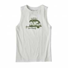 Women's Live Simply Trailer Organic Muscle Tee