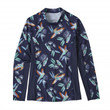 Women's Microswell Rashguard by Patagonia in Courtenay Bc