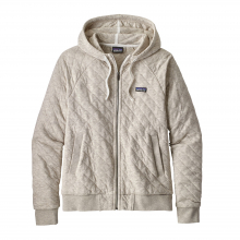 Women's Organic Cotton Quilt Hoody