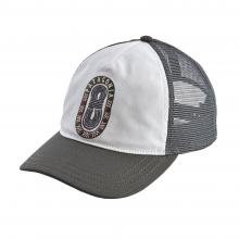 Women's Paper Peaks Badge Layback Trucker Hat by Patagonia