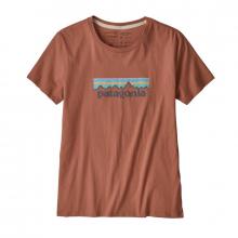 Women's Pastel P-6 Logo Organic Crew T-Shirt by Patagonia