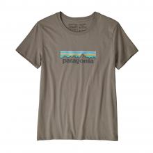 Women's Pastel P-6 Logo Organic Crew T-Shirt by Patagonia in Fresno Ca