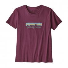 Women's Pastel P-6 Logo Organic Crew T-Shirt by Patagonia in Sioux Falls SD