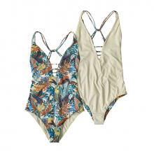 Women's Reversible Extended Break 1pc Swimsuit